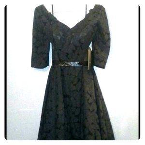 Dresses & Skirts - Big Lacy Black Party Dress!